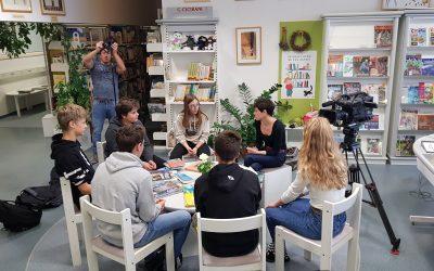 Učenci naše šole v oddaji Infodrom