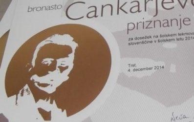 Rezultati področnega tekmovanja za Cankarjevo priznanje