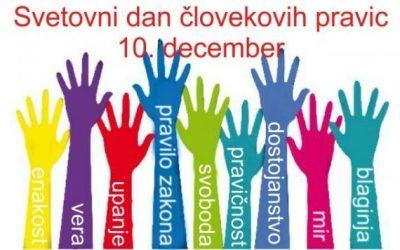 10. december – dan človekovih pravic